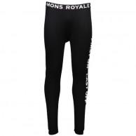 Mons Royale Double Barrel, long john, Black
