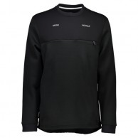 Mons Royale Transition Pipe Jersey, mid layer, Black