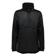 Mons Royale Transition Pullover, mid layer, Black