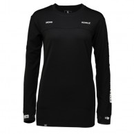 Mons Royale Boyfriend LS FWT, base layer, Black