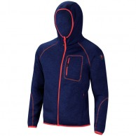 Cairn Roselend M, fleece jacket, men, Midnight Chine Scarlet
