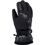 Cairn Meije W C-Tex, gloves, women, Black Grey