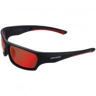 Cairn Peak Sport sunglasses, Mat Black Red