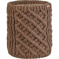 Cairn Liane neck warmer, women, Light Brown