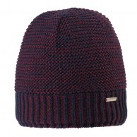 Cairn Leonard beanie, man, Burgendy Midnight