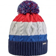Cairn Gautier beanie, man, Red King Blue