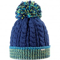 Cairn Mathis beanie, junior, Navy Multicolored