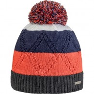 Cairn Sacha beanie, junior, Graphite Orange