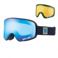 Cairn Polaris, Polarized goggles, Mat Black Blue