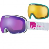 Cairn Magnetik, goggles, Mat Silver Purple