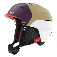 Marker Phoenix MAP Woman, Ski Helmet, White/Purple/Khaki