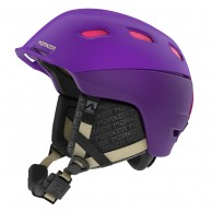 Marker Ampire Women, Ski Helmet, Purple