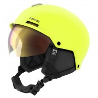 Marker Vijo, ski helmet with Visor, Neon Yellow