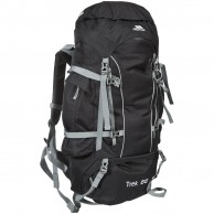 Trespass Trek 66, Mountain Backpack,  black