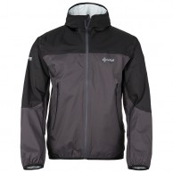Kilpi Hurricane rainjacket, black, men