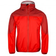 Kilpi Hurricane rainjacket, red, men