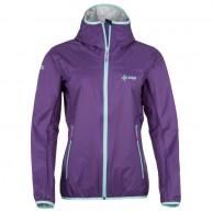 Kilpi Hurricane-W rainjacket, violet, dame