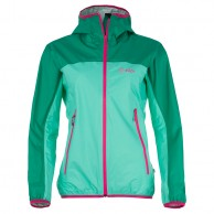 Kilpi Hurricane-W rainjacket, green, women