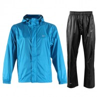 2117 of Sweden Vara, mens Rain Set, blue