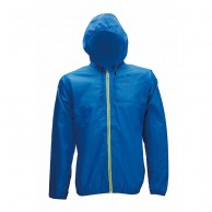 2117 of Sweden Viared, mens Rain jacket, blue