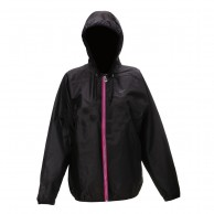 2117 of Sweden Viared, womens Rain jacket, black