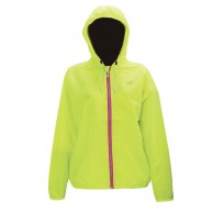 2117 of Sweden Viared, womens Rain jacket, yellow