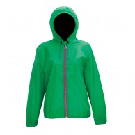 2117 of Sweden Viared, womens Rain jacket, grøn