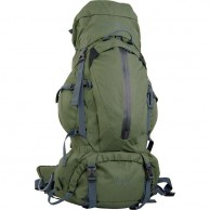 True North Trek backpack, 60L, green