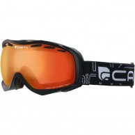 Cairn Alpha, goggles, Mat Black Orange