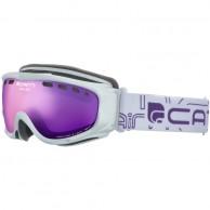 Cairn Visor, OTG goggles, Mat White Purple