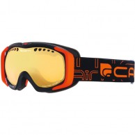 Cairn Booster, goggles, Mat Black Orange