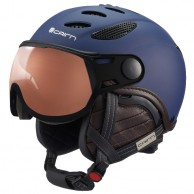 Cairn Cosmos Photochromic, ski helmet with Visor, Blue