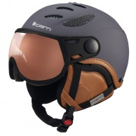 Cairn Cosmos Photochromic, ski helmet with Visor, Mat Anthracite