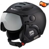 Cairn Cosmos, ski helmet with Visor, Mat Black