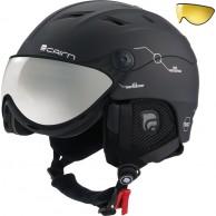 Cairn Spectral Visor Magnet Ium, ski helmet with Visor, black