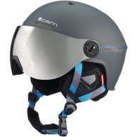 Cairn Eclipse Rescue, ski helmet with Visor, Mat Graphite