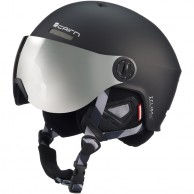 Cairn Eclipse Rescue, ski helmet with Visor, Mat Black