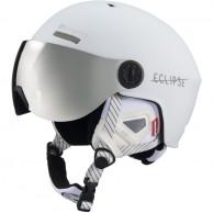 Cairn Eclipse Rescue, ski helmet with Visor, Mat White