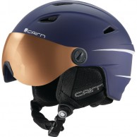 Cairn Electron Photochromic, ski helmet with Visor, Mat Navy