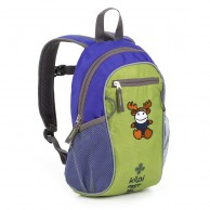Kilpi First, children's backpack, blue/green