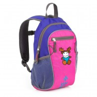 Kilpi First, children's backpack, blue/pink