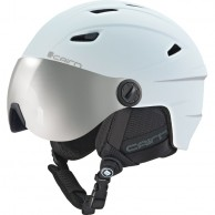 Cairn Electron, junior ski helmet with visor, mat white