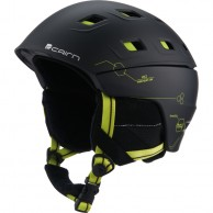 Cairn Pulsar, ski helmet, Black Lemon Techno