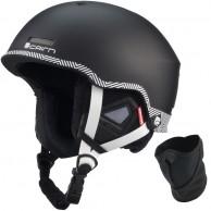 Cairn Centaure Rescue, ski helmet, Black Zebra