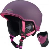 Cairn Centaure Rescue, ski helmet, Plum Zebra
