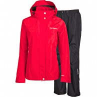Tenson Monitor, womens Rain set, red