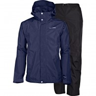 Tenson Minitor, mens Rain set, dark blue