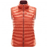 Haglöfs Essens II Down Vest Women, red