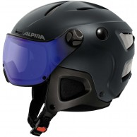 Alpina Attelas Visor VHM, helmet with visor, matt blue