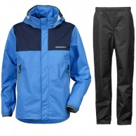 Didriksons Vivid Mens rain set Sharp Blue